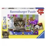 Ravensburger-08971 Amis à Quatre Pattes