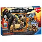 Ravensburger-09258 Dragons: Le Chevalier Dragon