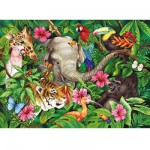 Ravensburger-09533 Ambiance tropicale
