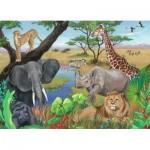 Ravensburger-09600 Safari