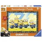 Ravensburger-09770 Puzzle Géant de Sol - Minions