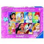 Ravensburger-09789 Puzzle Géant de Sol - Disney Princess