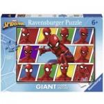 Ravensburger-09790 Puzzle Géant de Sol - Spiderman