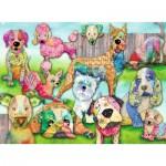 Ravensburger-10041 Pièces XXL - Patchwork Pups
