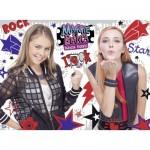 Ravensburger-10048 Pièces XXL - Maggie & Bianca - Fashion Friends
