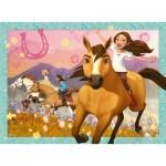 Ravensburger-10055 Pièces XXL - Dreamworks - Spirit Riding Free