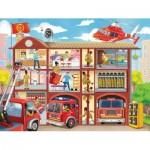Ravensburger-10404 Pièces XXL - Caserne de Pompiers