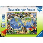 Ravensburger-10540 Animaux du Monde