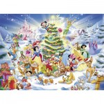 Ravensburger-10545 Pièces XXL - Disney Christmas Magic