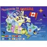 Ravensburger-10569 Map of Canada