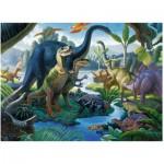 Ravensburger-10740 Pièces XXL - Au Pays des Géants, les Dinosaures