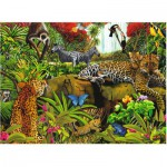 Ravensburger-10781 Pièces XXL - Animaux de la jungle