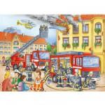 Ravensburger-10822 Au feu les pompiers !