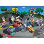 Ravensburger-10871 Mickey et ses amis font du Skateboard