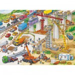 Ravensburger-10896 Gigantesque chantier