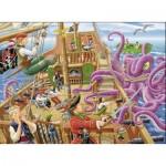 Ravensburger-10939 Pièces XXL - Pirates