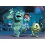 Ravensburger-10941 Pièces XXL - Disney Pixar Collection: Sully, Mike & Boo