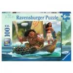 Ravensburger-10943 Pièces XXL - Vaiana et Maui