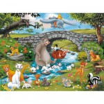 Ravensburger-10947 La famille d'animal friends