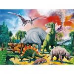 Ravensburger-10957 Au milieu des dinosaures