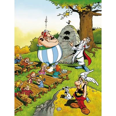Ravensburger-10958 Astérix et Obélix : Obélix écolier