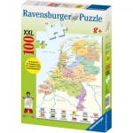 Ravensburger-10998 Carte des Pays-Bas
