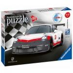 Ravensburger-11147 Puzzle 3D - Porsche 911 GT3 Cup