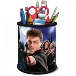 Ravensburger-11154 Puzzle 3D - Pot à Crayons - Harry Potter