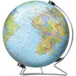 Ravensburger-11159 Puzzle 3D - Globe Terrestre (en Allemand)
