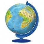 Ravensburger-11160 Puzzle 3D - Globe pour Enfants en Alemand
