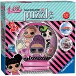 Ravensburger-11162 Puzzle 3D - LOL Surprise!