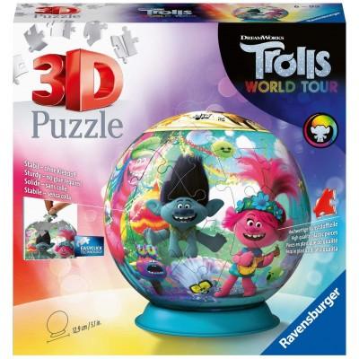 Ravensburger-11169 Puzzle 3D - DreamWorks - Trolls