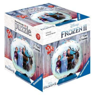 Ravensburger-11182-04 Puzzle Ball 3D - La Reine des Neiges II