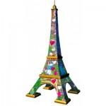 Ravensburger-11183 Puzzle 3D - Tour Eiffel