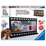 Ravensburger-11212 Puzzle 3D - The Secret Life of Pets