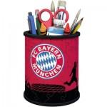 Ravensburger-11215 Puzzle 3D - Pot à Crayons - FC Bayern Munich