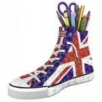 Ravensburger-11222 Puzzle 3D - Sneaker Union Jack