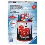 Ravensburger-11225 Puzzle 3D - Vide Poches - Prague