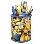 Ravensburger-11261 Puzzle 3D - Pot à Crayons - Minion