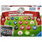 Ravensburger-11679 Puzzle 3D - Calendrier de l'Avent Bundesliga (en Allemand)