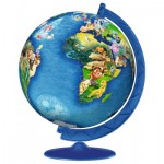 Ravensburger-12343 Puzzle 3D - Disney Globe