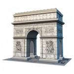 Ravensburger-12514 Puzzle 3D - Arc de Triomphe, Paris