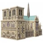 Ravensburger-12523 Puzzle 3D - Notre Dame de Paris