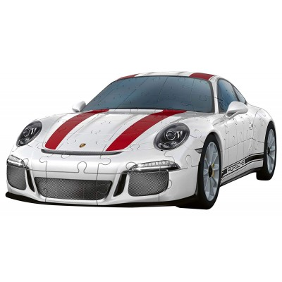 Ravensburger-12528 Puzzle 3D - Porsche 911 R