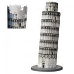 Ravensburger-12557 Puzzle 3D - Italie, Tour de Pise