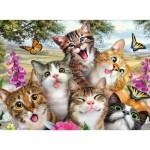 Ravensburger-12620 Pièces XXL - Friendly Felines