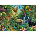 Ravensburger-12660 Animaux de la jungle