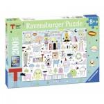 Ravensburger-12702 Pièces XXL - Triennale