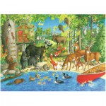 Ravensburger-12740 Pièces XXL - Woodland Friends