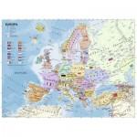 Ravensburger-12837 Pièces XXL - Carte de l'Europe en Allemand